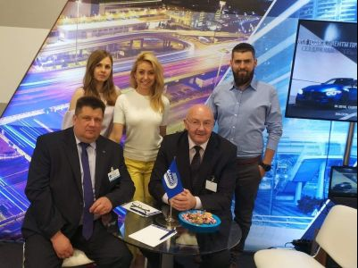 Inelo Representatives at the International Specialist Trade Fair in Minsk